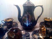 Кофейный сервиз из СССР (Польша) Doganay Ceramic на 6 персон