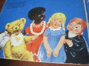 Детская книга на немецком языке с толстыми страницами для младшего воз