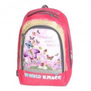Ранец школьный Класс для девочек с бабочками