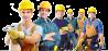 рабочие строительных специальностей на вахту