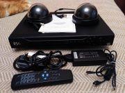Видеорегистратор DVR RVi-R08LB с цветной видеокамерой VR-CF200
