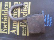 1950 Старинный стальной замок Союз без ключа первая половина XX