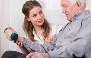Восстановление после инсультов на дому у пациента на Бору