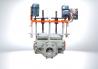 Оборудование для переработки пластмасс, циклон с кронштейном