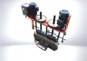 Оборудование для переработки пластмасс, выгрузной блок