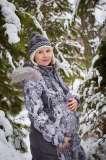 Б/У осенне-зимний костюм для беременных (дл. куртка и брюки)