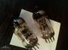 Лампы NOS Siemens ECC801S triple mica пара